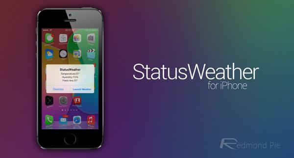 StatusWeather header