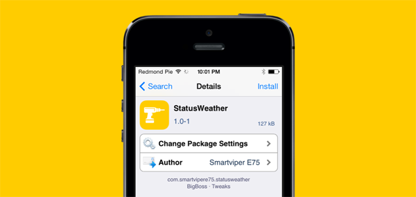StatusWeather package