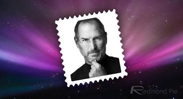 Steve Jobs stamp mockup