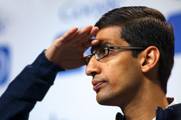 Sundar Pichai Android head