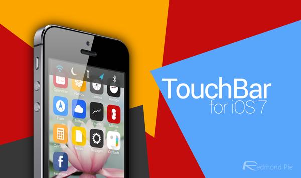 TouchBar iOS 7 header