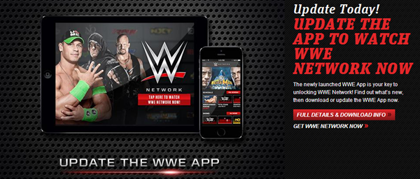 WWE Network iOS