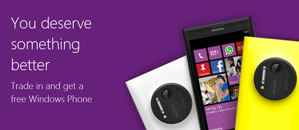 Windows Phone trade in