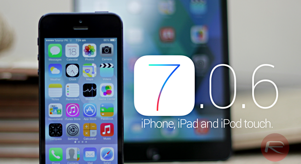 iOS 706 main header