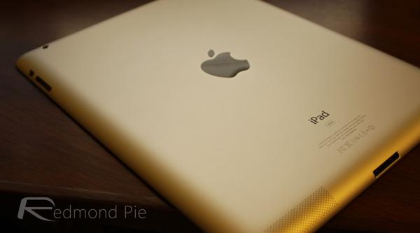 iPad rear shell
