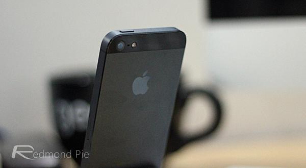 iPhone 5 rear shot