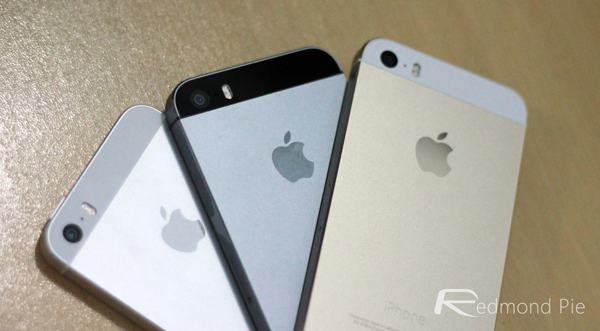 iPhone 5s all colors trio