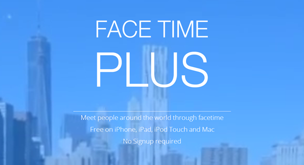 FaceTime Plus header