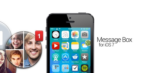 Facebook Chat heads iOS 7