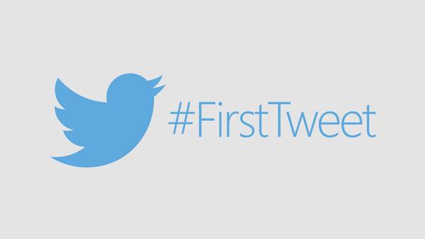 FirstTweet Twitter