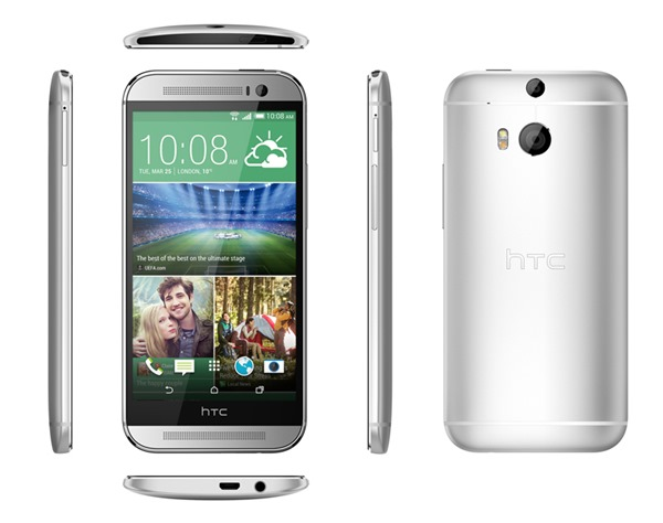 HTC One M8 design