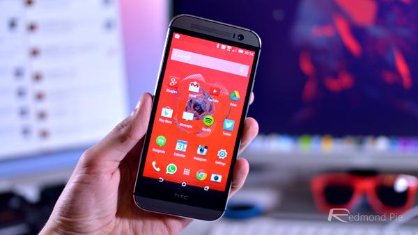 HTC One M8 header