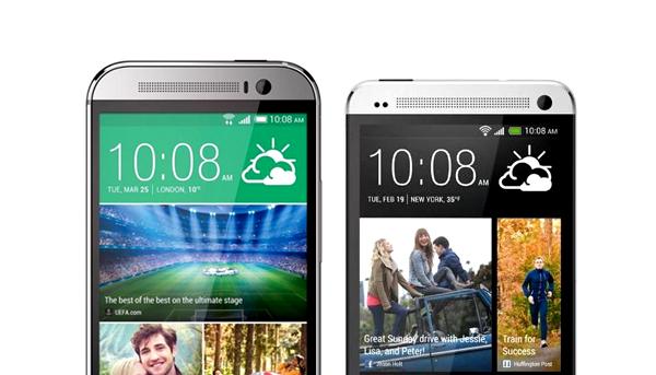 HTC One m8 vs HTC One