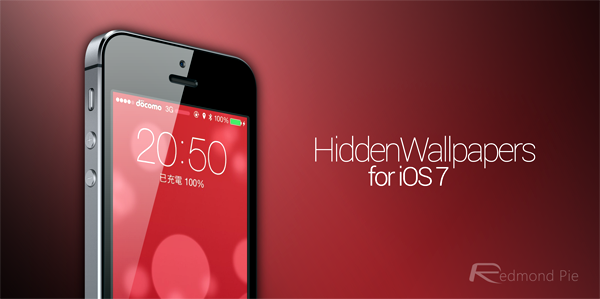HiddenWallpaper iOS 7 header