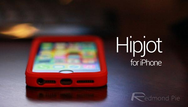 Hipjot for iPhone header