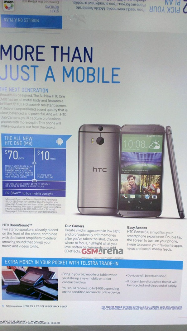 New HTC One marketing