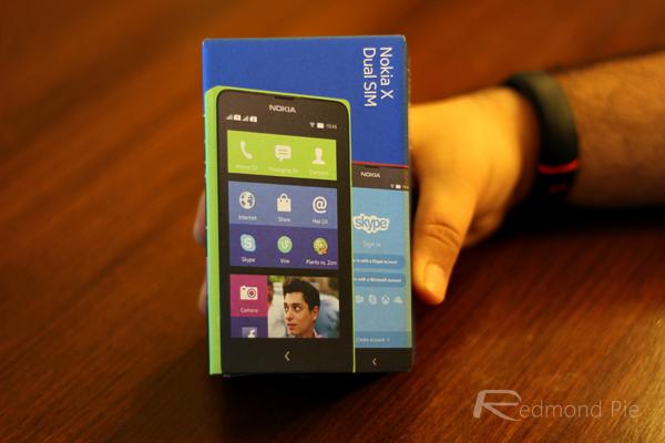 Nokia X box front