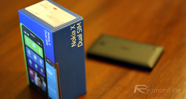 Nokia X unboxing header