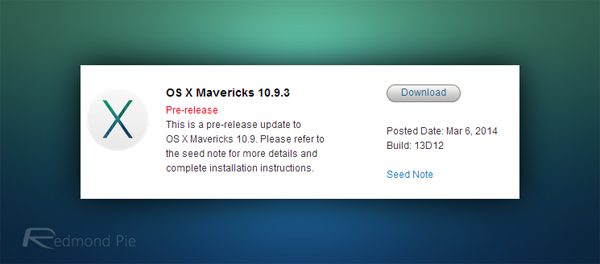 OS X Mavericks 1093