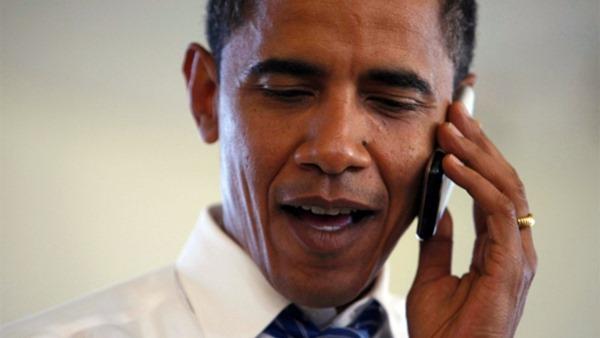 Obama smartphone