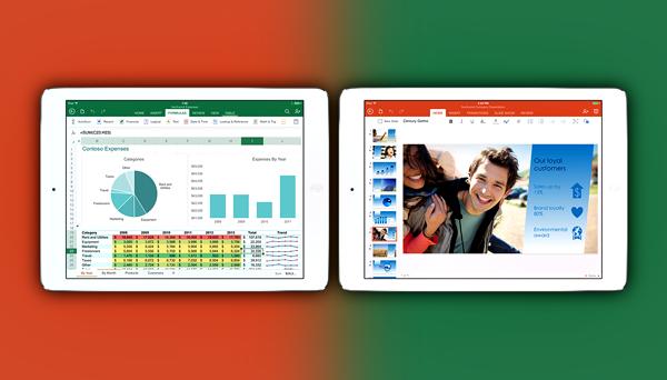Office for iPad main