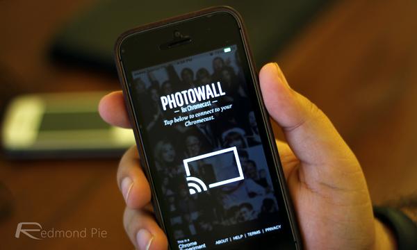 Photowall Chromecast iPhone