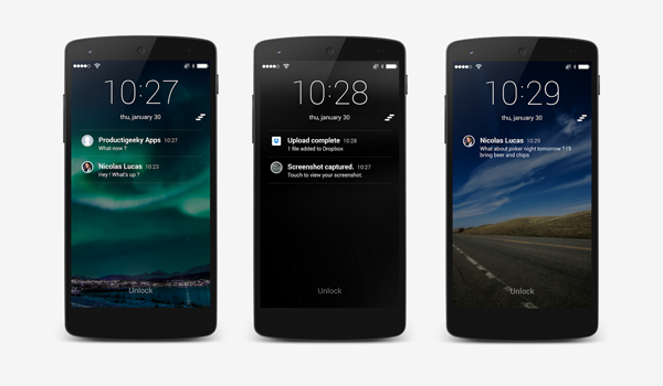 SlideLock Android header