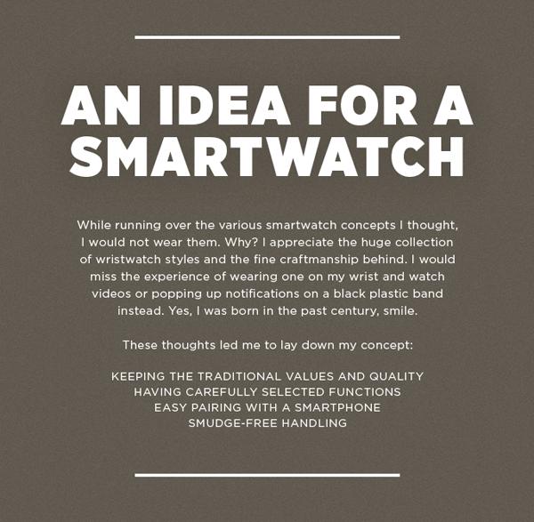 Smartwatch iWatch concept 1