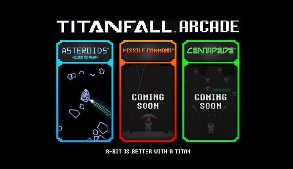 Titanfall Arcade header