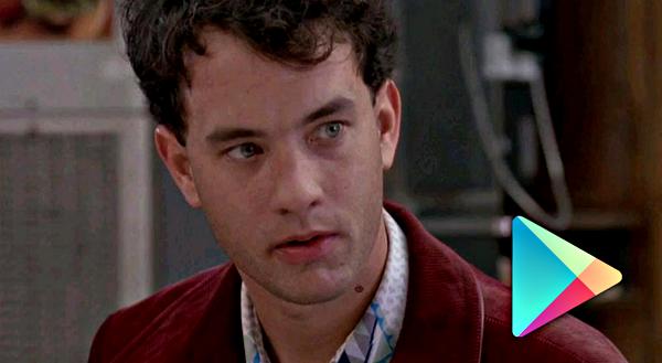 Tom Hanks Google Play header