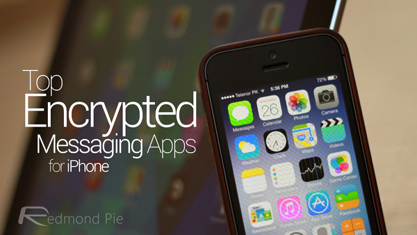 Top Messaging Apps encrypted header