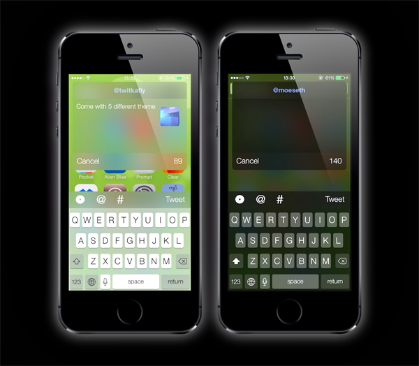 TwitkaFly iOS 7 theme