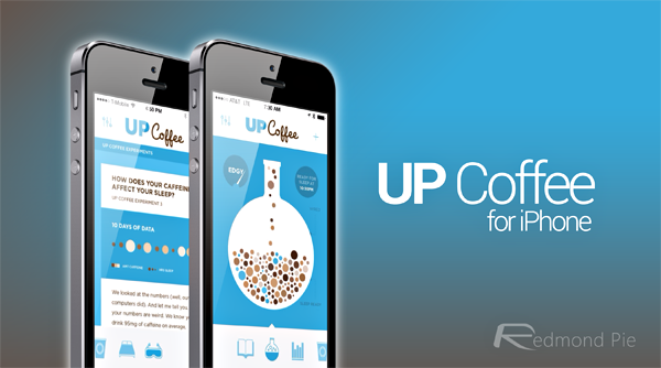 UP Coffee for iPhone header