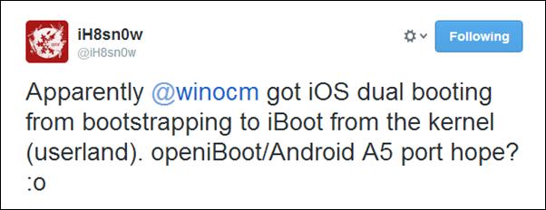 iH8sn0w dual boot tweet