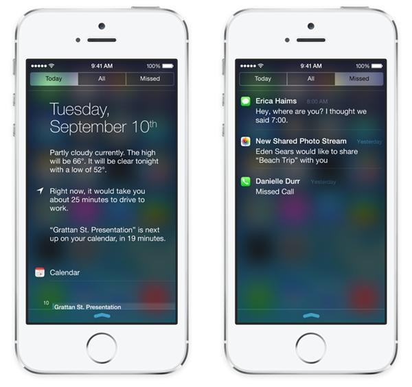 iOS 7 NC