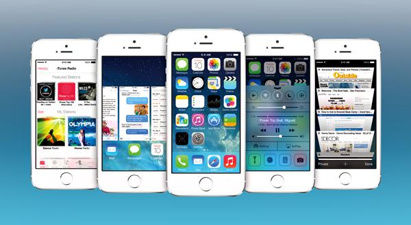 iOS 7 header
