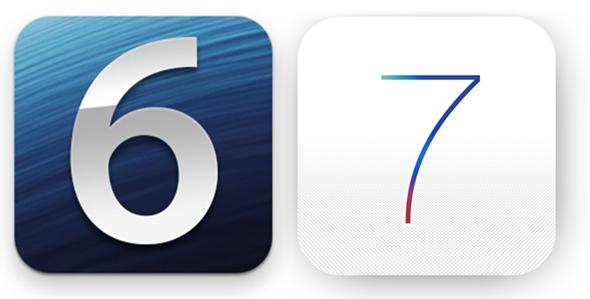 iOS 7 iOS 6