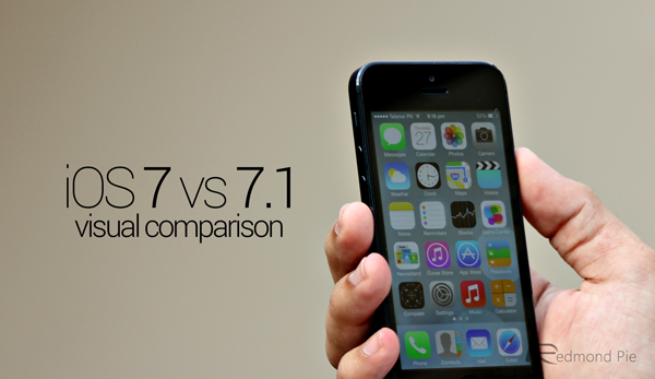 iOS 7 vs 71 comparison header