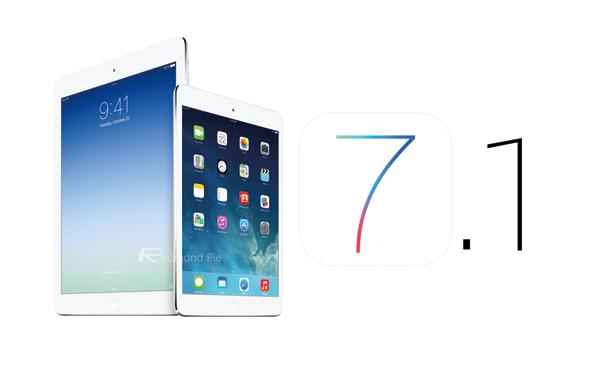 iOS 71 new iPads
