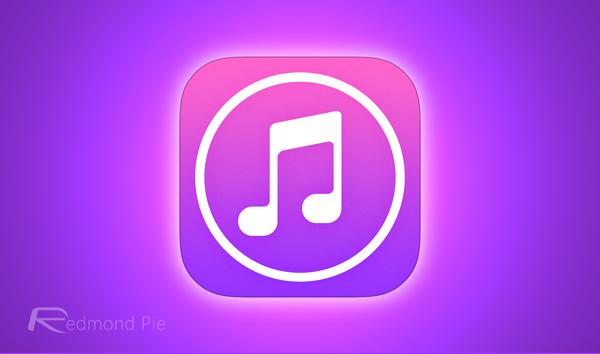 iTunes Store logo glow