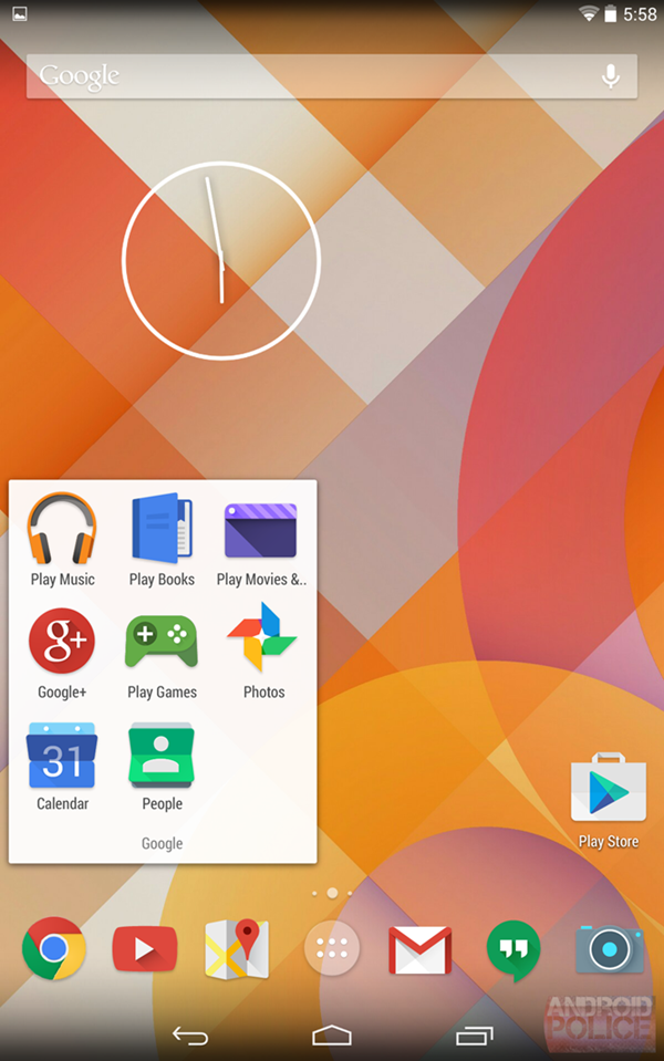 Android 4.5 screenshot leaked