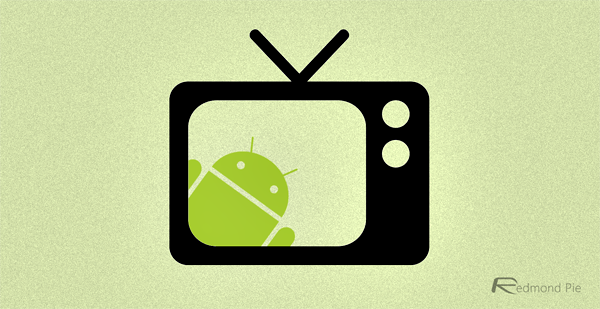 Android TV logo concept