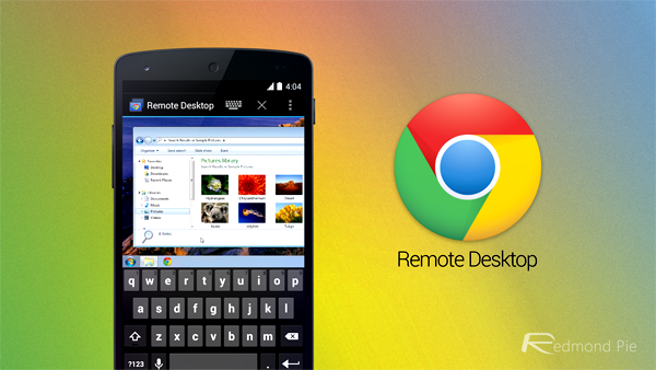 Chrome Remote Desktop header