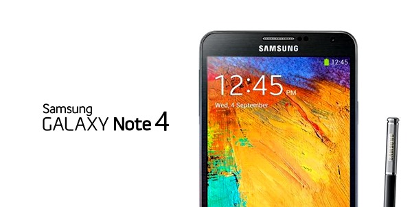 Galaxy Note 4 header
