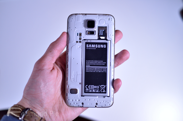 Galaxy S5 open back cover