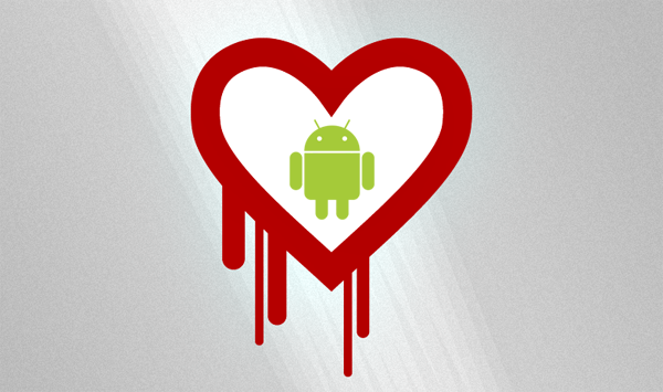 Heartbleed Android logo