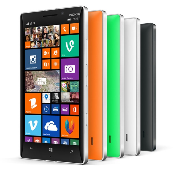 Lumia 930 group shot