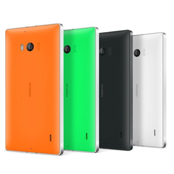 Lumia 930 rear shot