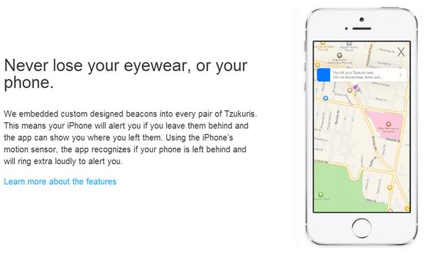 MFi sunglasses app