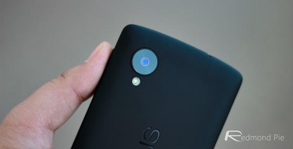 Nexus 5 rear